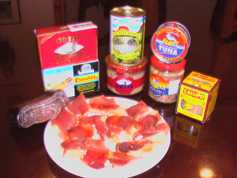 a world of tuna products